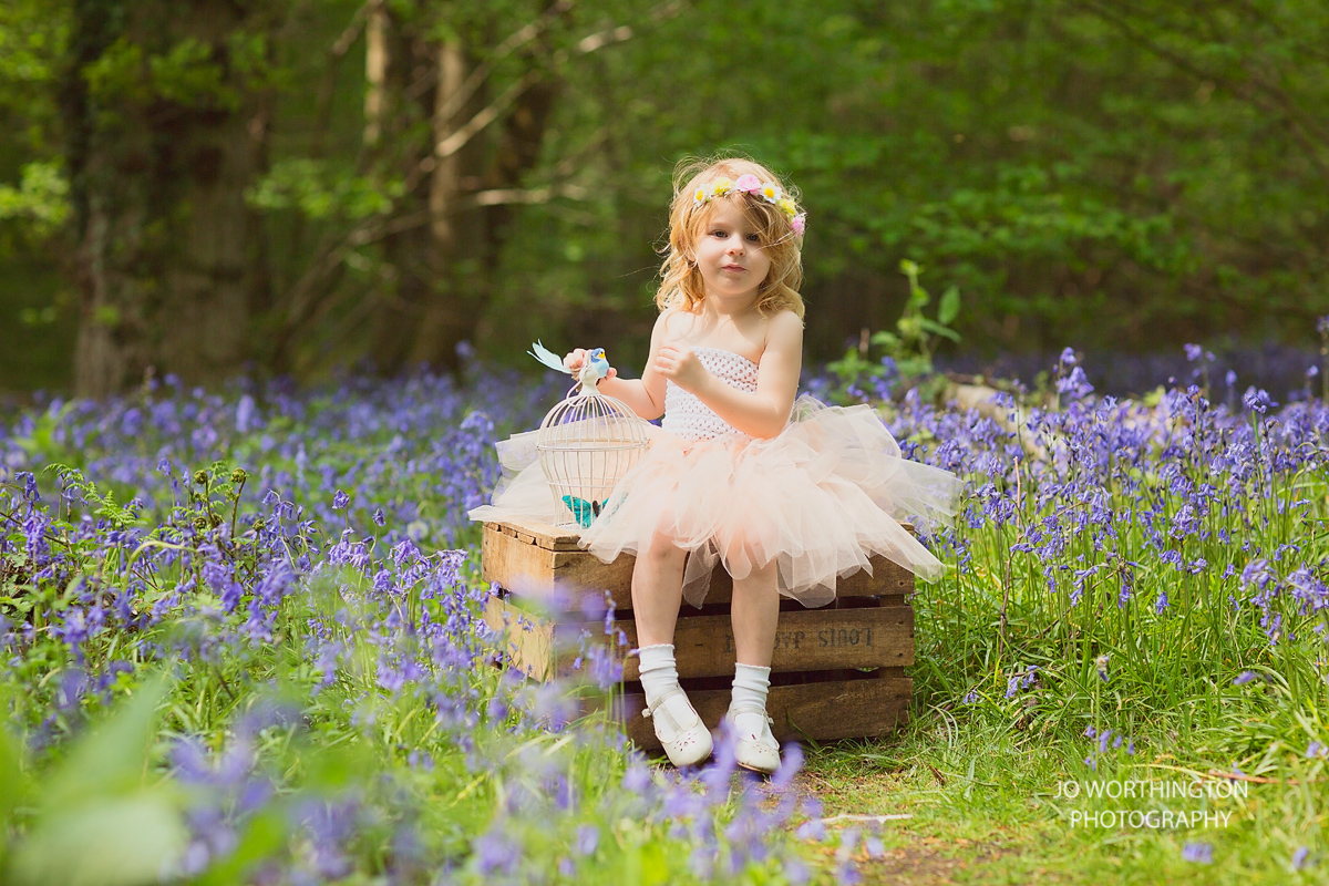 Jo Worthington Bluebell Hampshire photographer