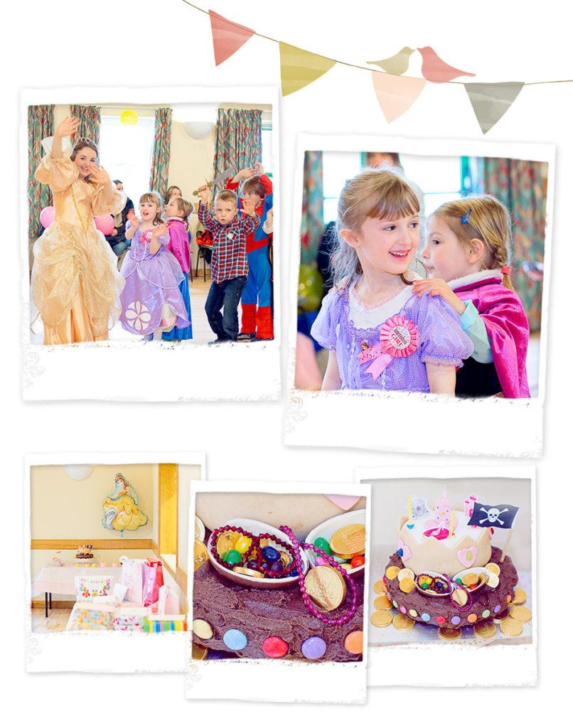 Childs Princess Party Hampshire Jo Worthington Photography