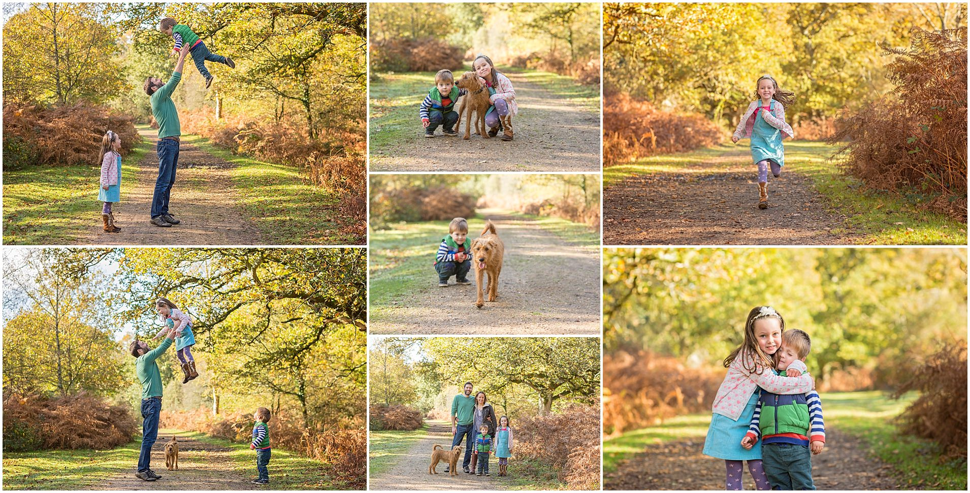 New Forest outdoor natural family photoshoot #familyphotography