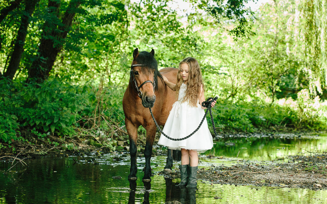 The best time of day for photoshoots | Hampshire equine and family photographer