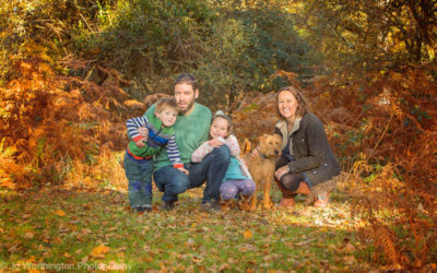 Hampshire Outdoor family photoshoot