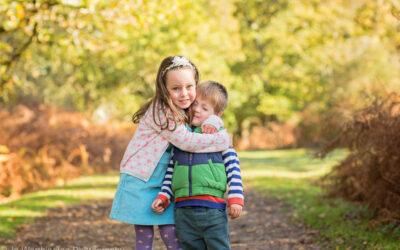 Hampshire Outdoor family photoshoot