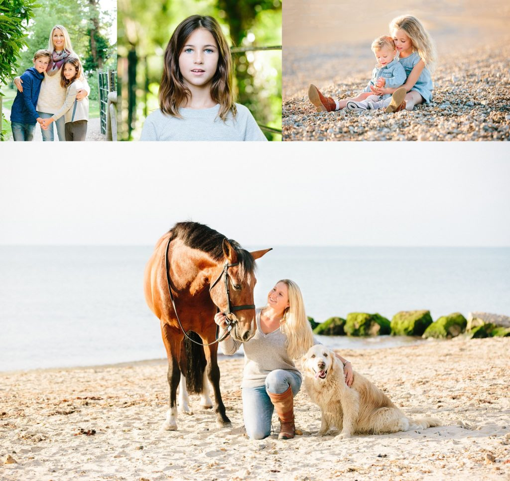Hampshire family equine photographer