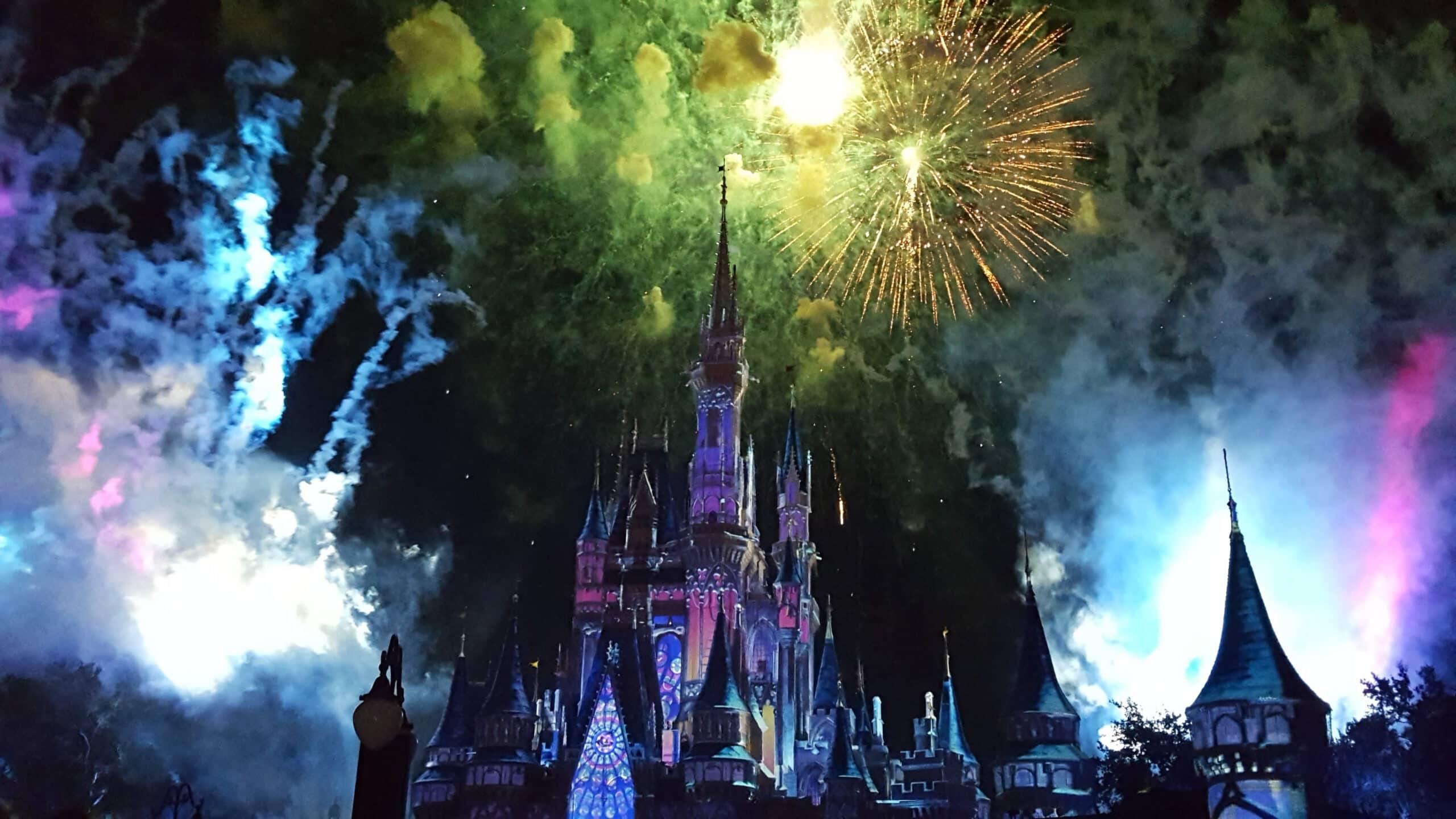 Florida Disney World Orlando Magic Kingdom Fireworks