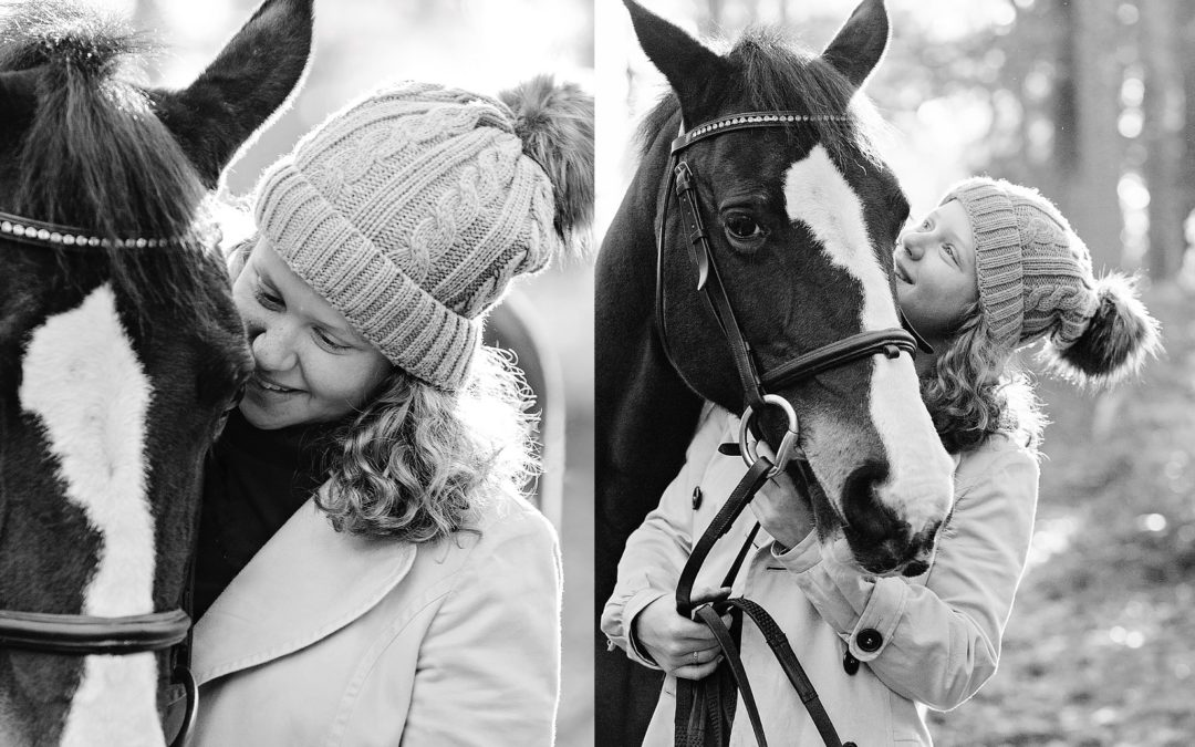 Becky and Savannah | Equine lifestyle photographer Hampshire