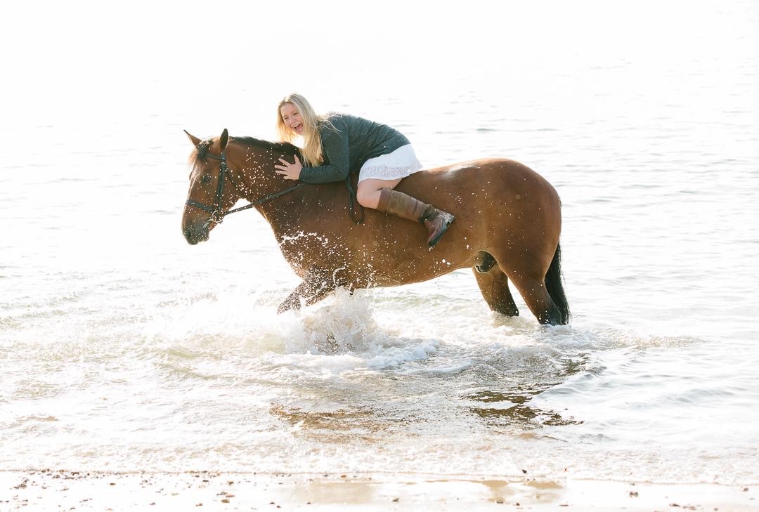 Horse photoshoot Dorset