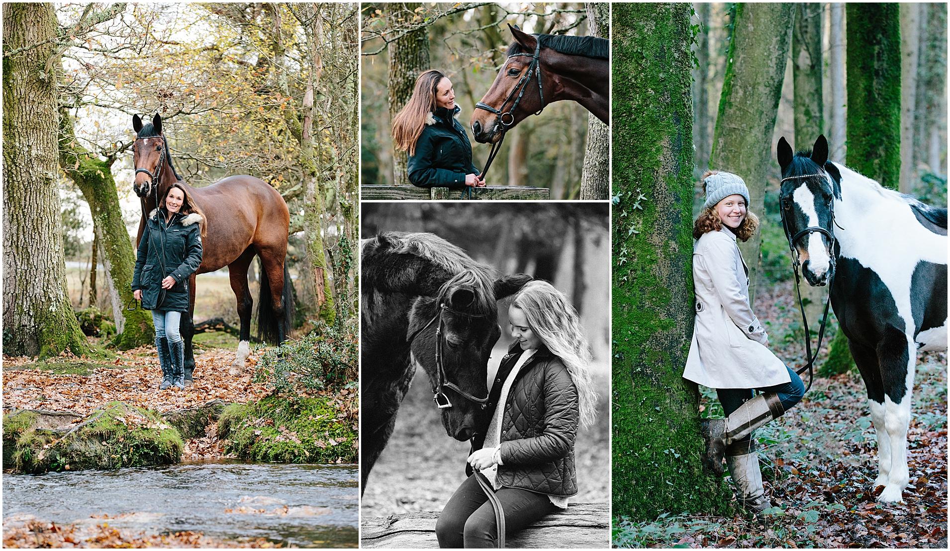 Winter equine photoshoot