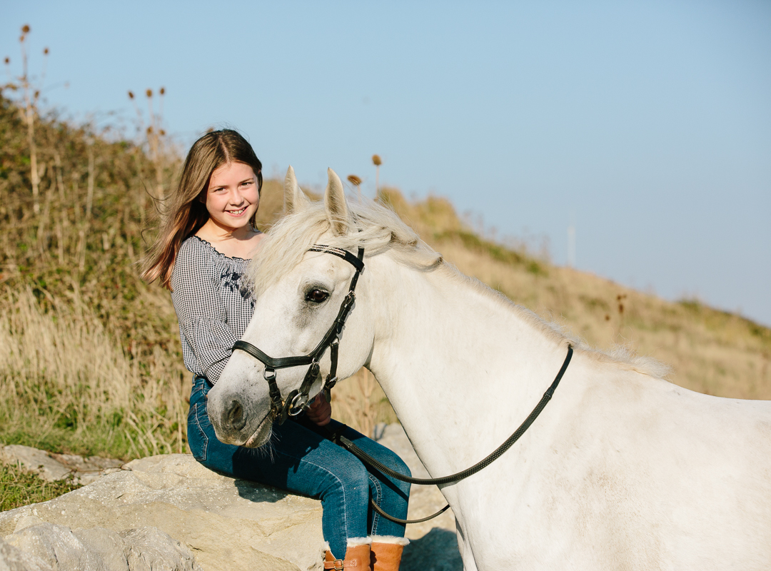 Highcliffe beach photoshoot equine photographer