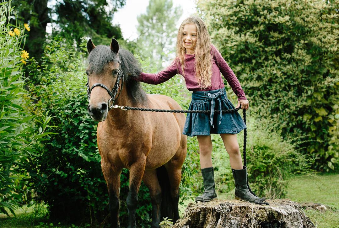 children horse photoshoots