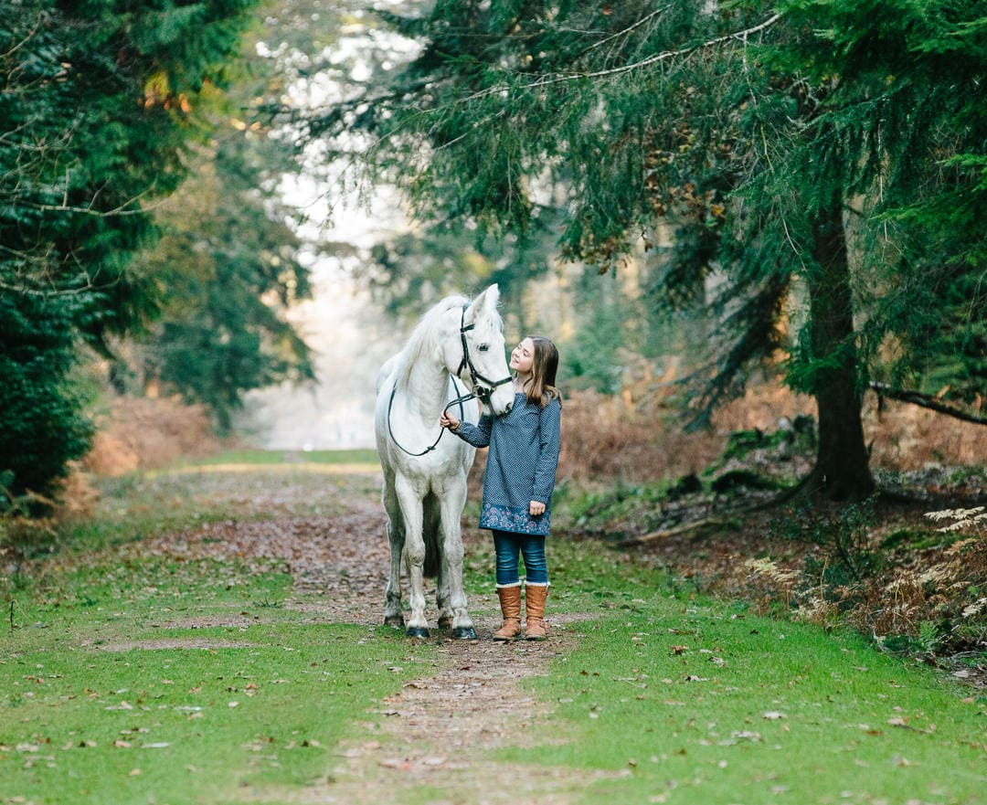 girl and pony equine photoshoot