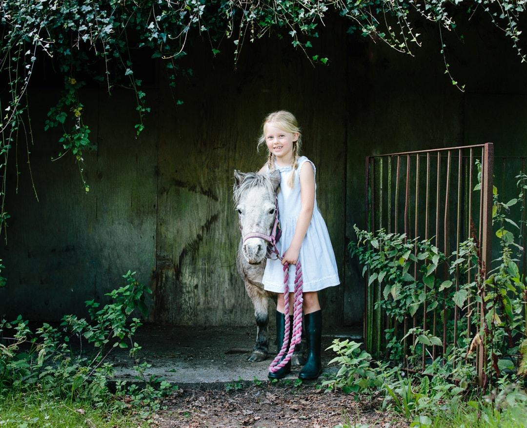 children and pony photoshoots Hampshire