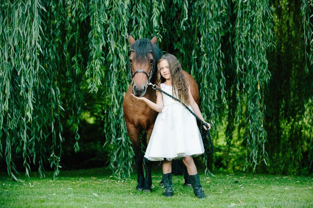 child equine photoshoot Fordingbridge