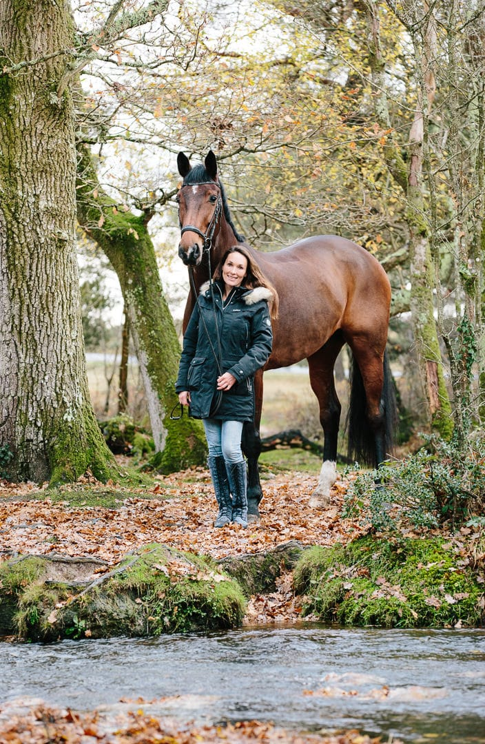 Winter Equine photography Hampshire