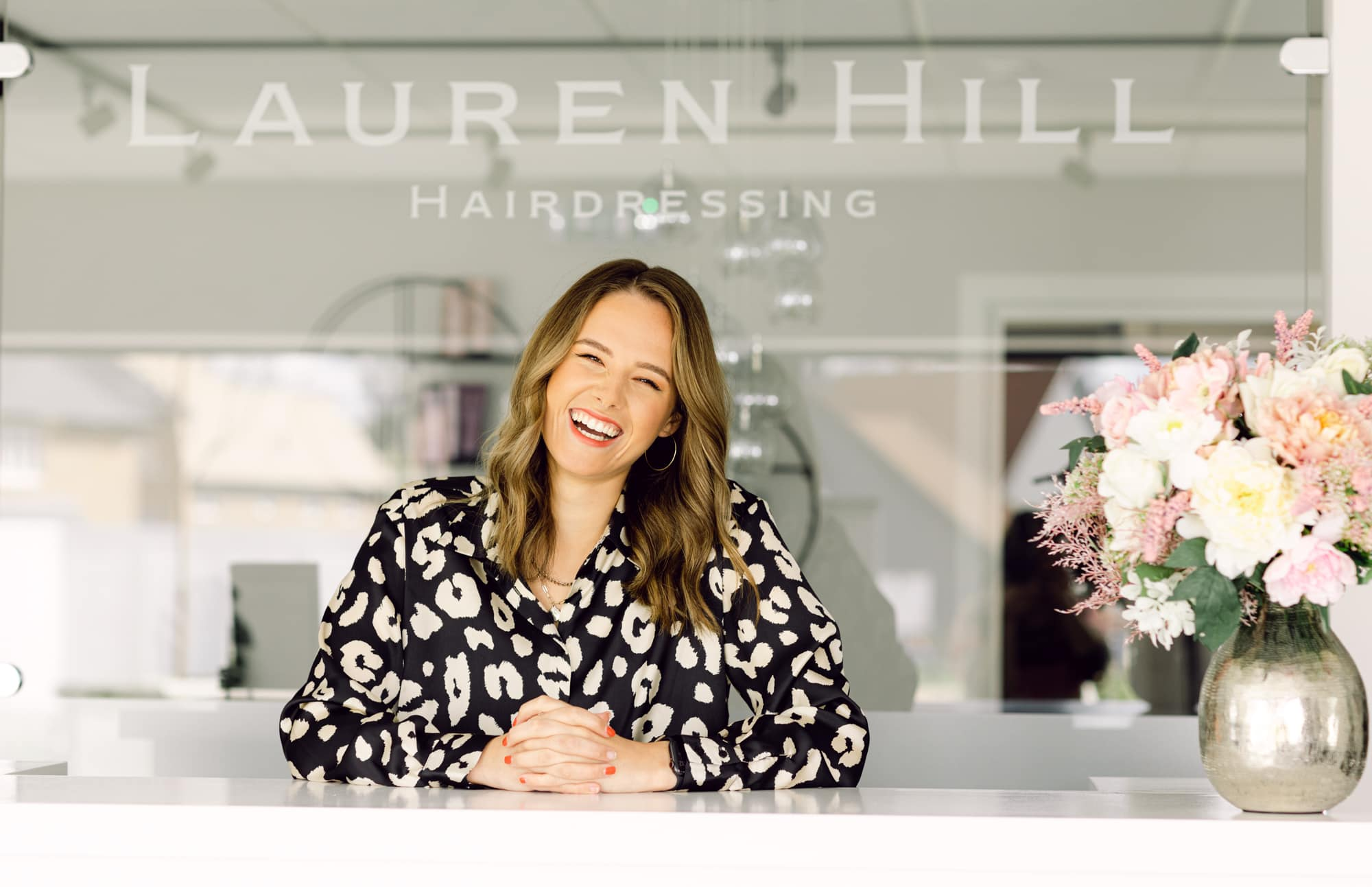 Hairdresser personal branding photoshoot